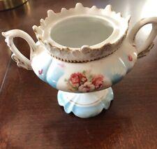 RS Prussia Covered Sugar Bowl Vintage Fancy Sugar Bowl