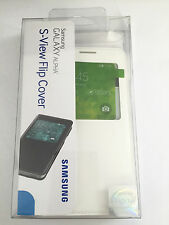 New OEM Samsung Galaxy Alpha S-View Flip  Cover  Folio Cell Phone Case - White
