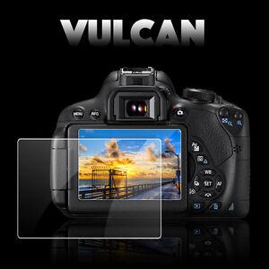 VULCAN Glass Screen Protector for Fujifilm X-Pro1 LCD. Tough Anti Scratch Fuji