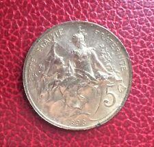 France - Superbe monnaie de 5 Centimes  1898