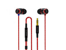 Red SoundMAGIC E10 for iPhone and Android In-Ear Noise Isolating Earphone