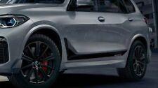 BMW OEM M Performance G05 X5 2019 + Frozen Schwarz Streifen Aufkleber Folie