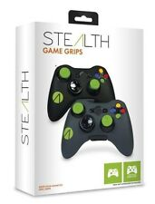 XBOX 360 * Stealth Game Grips Pack * 2 Controller Skins and 4 Thumb Sticks(R3B)