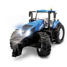 Tracteurs miniatures bleus 1:16