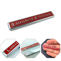 Car Body Trim 3D Limited Edition Style Emblem Sticker Decal Badge Accessories