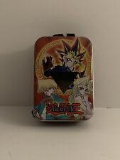 YU-GI-OH! 2003 Tin Case It's Time To Duel Trading Card Box Yugioh Lanyard Rare