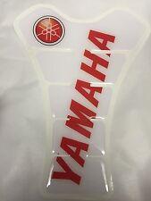Yamaha r1  rn01 rn04 rn19 rn22 Yamaha r6 rj11 rj15 Tankpad Weiß Rot