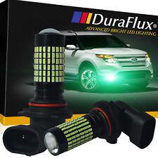 DuraFlux 9006 HB4 New CREE LED Fog Light Bulb 144SMD Ice Blue 8000K 2900LM 180W
