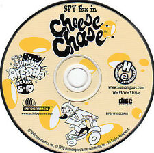 SPY FOX in CHEESE CHASE Kids Educational Adventure Windows PC & Mac Game NEW CD