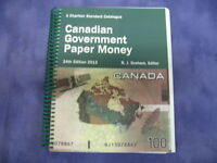 A Charlton Standard Catalogue Canadian Government Paper Money 24th Edition 2012