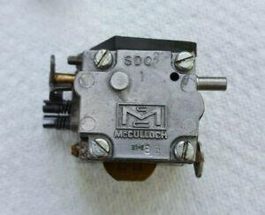Vintage McCulloch Mac 2-10G Chainsaw Carburetor Parts