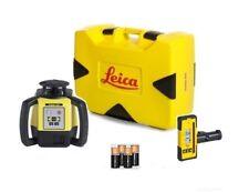 Rotating Laser Leica Rugby 640 w/ Rod Eye 120 & Alkaline Package 6011154