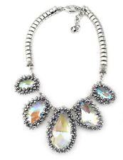 Collier Femme  Cristal Gros Goutte Style Moderne Soirée Mariage Joli Chic QT11
