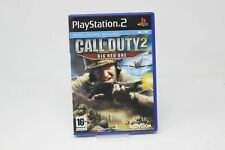 CALL OF DUTY 2 BIG RED ONE SONY PS2 playstation 2 INV-4029