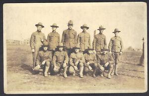 RPPC, WWI Soldiers, Ohio?