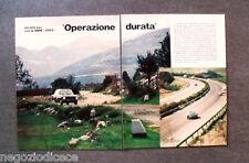 BD50 - Clipping-Ritaglio -1973- OPERAZIONE DURATA , 60.000 Km CON LA BMW 2002