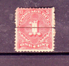 #J61   1  CENT  POSTAGE DUE       FANCY CANCEL   USED     a