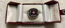 Mens ABC Perfect 300 Game Bowling Ring, Sz. 10.5, (Not Gold) KEEPSAKE Authentic
