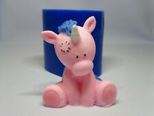 """""""Unicorn"""" silicone mold for soap and candles making mould mold"""