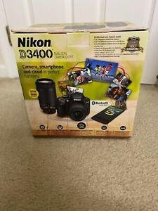 Nikon d3400 24.2mp Digital SLR Camera Used Only 6 Times!!