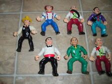 7 Vintage Dick Tracy Playmates 1990s Loose Movie Action Figure Lot Set