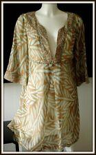 Robe tunique Soie coton Diane von Furstenberg 40 dress