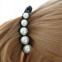 Women Pearl Mini Hair Accessories Hair Pins Barrettes Fashion Ponytail Hair Clip