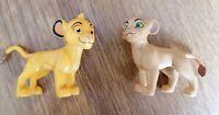 Disney Lion King Simba & Nala Cub Figure Toy's Play learn Fun New!