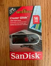 Brand New SanDisk Cruzer Glide 16GB USB 2.0 3.0 Flash Drive + FAST SHIPPING