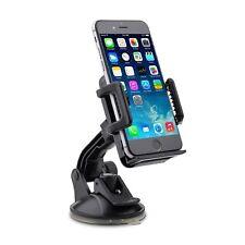 Car Phone Mount Holder per auto con 1-Button Release-mobile GPS iPhone Samsung