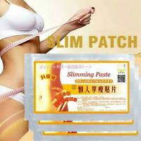 10Pcs Slimming Patches Effectively Weight Loss Burning Slimming Hot Fat R5V6