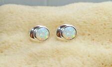 Ohrstecker Ohrringe mit Opal Triplette Ohrhänger echt 925 Sterling Silber   BC13