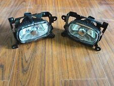 Clear Fog Lights Lamps w/Bulbs Pair For Mitsubishi Outlander 2003-2006