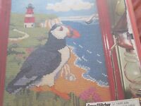 'Lighthouse Lookout' Christine Howes cross stitch chart (only)