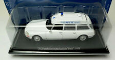 "wonderful modelcar CITROEN DS20 AMBULANCE Medecalisee ""Petit"" 1973 - scale 1/43"
