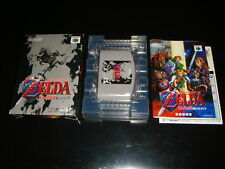 Zelda Ocarina of Time Nintendo 64 Japan