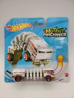 Hot Wheels MUTANT MACHINES POWER TREAD (WHITE) HTF! RARE FREE SHIPPING