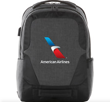 """American Airlines Branded Backpack Overland 17"""" TSA Friendly Computer Bag *NEW*"""