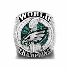 2018 Philadelphia Eagles World Championship Ring WENTZ size 8-14 !