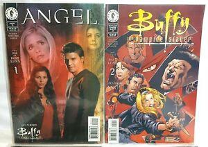Buffy The Vampire Slayer & ANGEL Comics #29 #30 #15 #16  Dark Horse  PAST LIVES