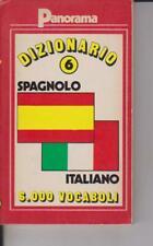 DIZIONARIO - 6 - GARCIA - PANORAMA - GARZANTI - SPAGNOLO ITALIANO - 1988