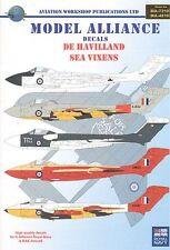 Model Alliance decals 1/72 De Havilland Sea Vixens # 72197