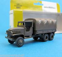 Minitanks H0 553 CCKW 353 6x6 Truck US Army WWII HO 1:87 GMC Roco Herpa