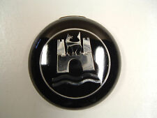 Vintage VW OEM Horn Button Black & Chrome (On hand Ships Today) #5