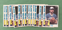 Dave Stieb 1984 Topps  #590 Blue Jays ~ Lot of 2! Free Shipping