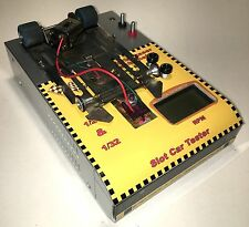 1/24 & 1/32 SLOTCAR COMPACT PORTABLE LASER TACHOMETER & FAN! FITS IN A TOOL BOX!