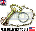 JCB PARTS - LOCK PIN FOR LOADALL CARRIAGE 525, 530, 535 (PART NO. 545/13600)