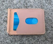 Leather Wallet, Mens wallet, Money Clip Wallet, Credit Card Wallet-Made in Vanco