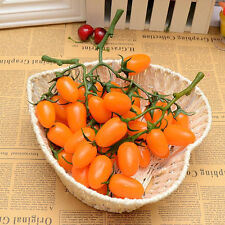 artificial string tomato faux fruit fake food house kitchen party office decor Y