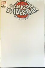 Marvel Comics Amazing Spider-Man Full Circle #1 Blank Variant
